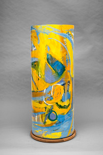 *Multiple Perspectives, 30x12, cylinder
