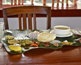 Banana leaf food.JPG