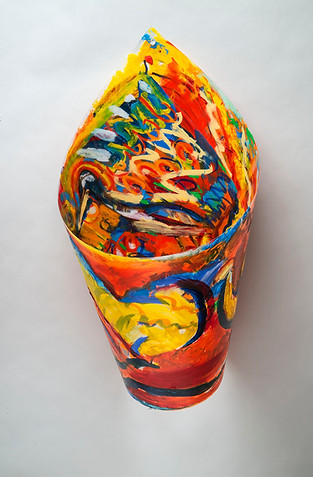 The Birds, 21x12, cylinder