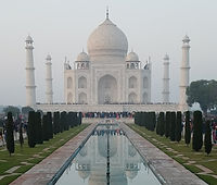 Taj Mahal Agra with pool no bird.jpg