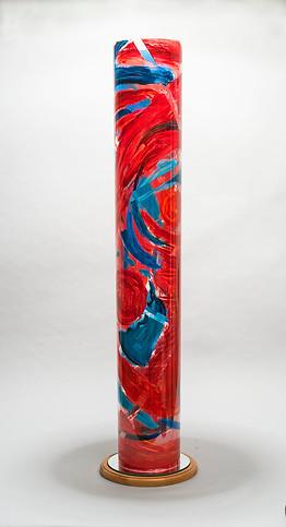 Red Flight, 40x6, cylinder