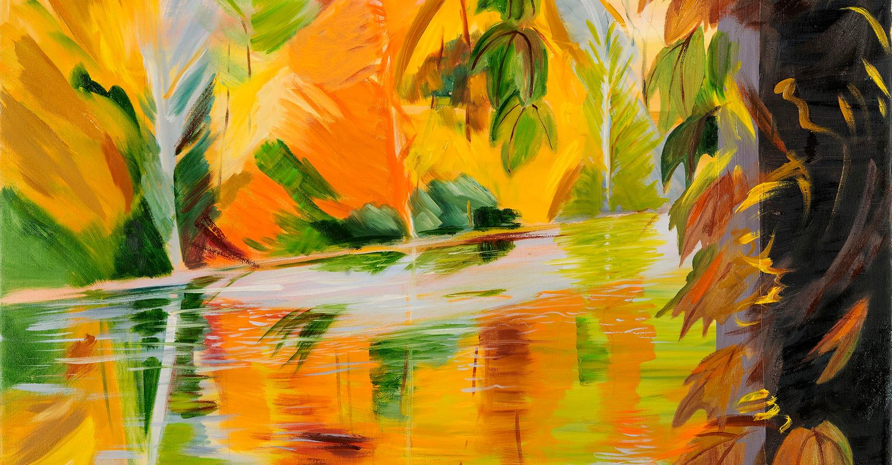 Dreams of Autumn, 36x36