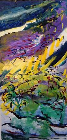 Birds in Flight, 30x16