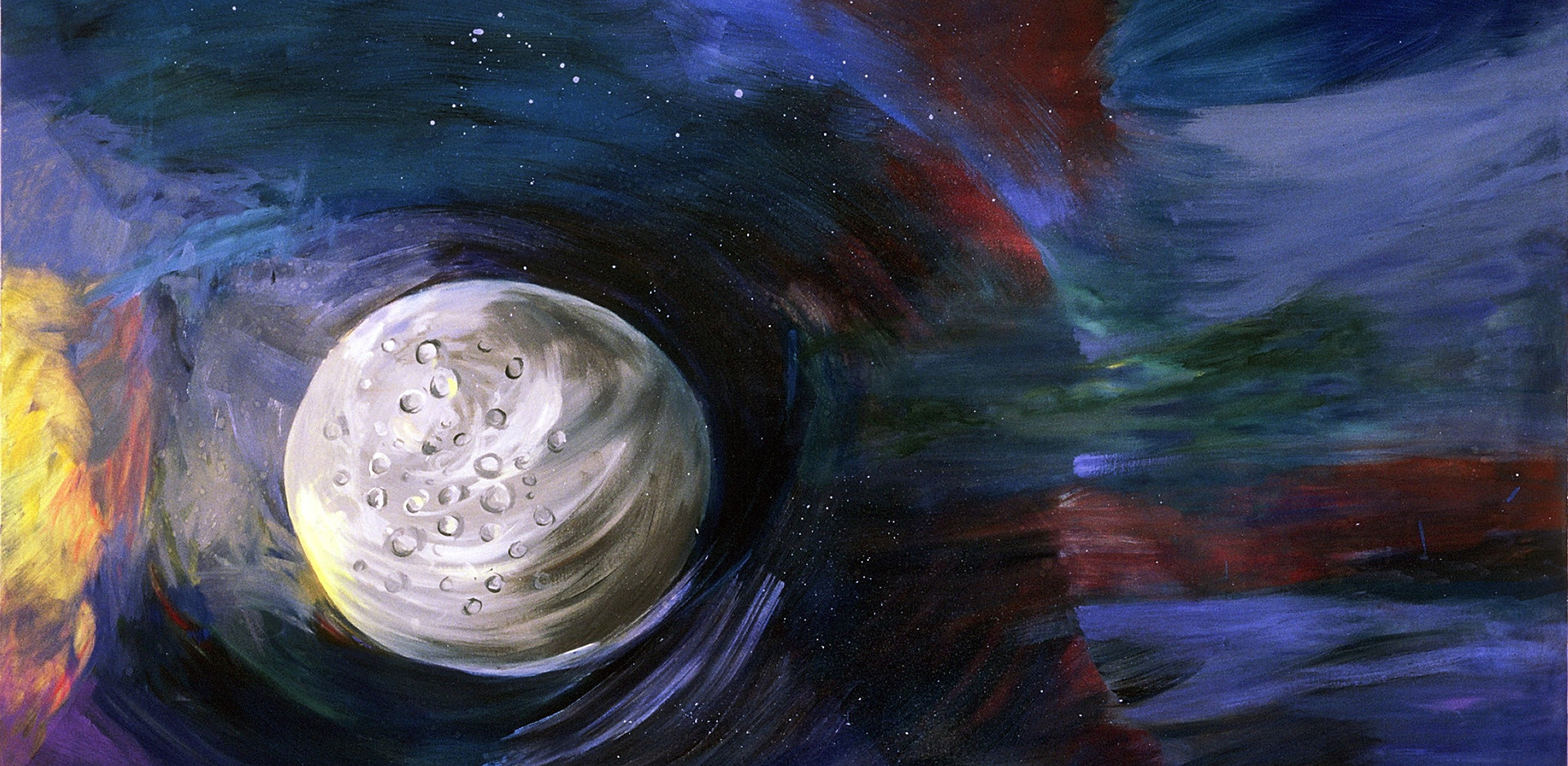 Planetary Target (Mercury), 40x56