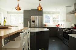 Custom Home Kitchen Addition Lights