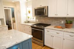 Custom Home Addition NH stove