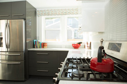 Custom Home Kitchen Addition Range