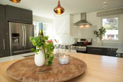 Custom Home Kitchen Addition island