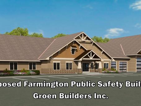 Ground Breaking Ceremony for Farmington NH Public Safety Building Ground Breaking Ceremony