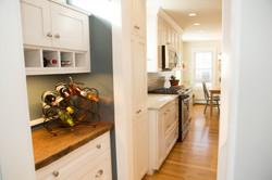Custom Home Addition NH wine storage