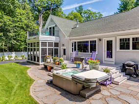 South Berwick ME Custom Home Ranch NH
