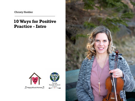 TONIGHT – FREE 20 min Webinar with Christy on 10 Ways for Positive Practices