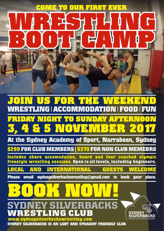 Wrestling Boot Camp