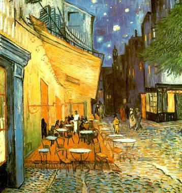 Terrasse du Café - Vincent Van Gogh