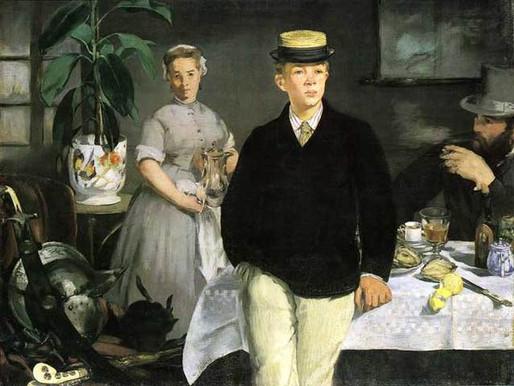 """""""Colazione nello studio"""" - Edouard Manet - 1868"""