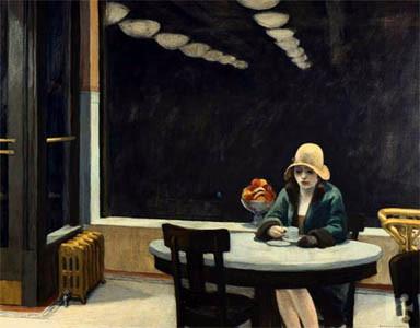 """""""Automat"""" - Edward Hopper"""