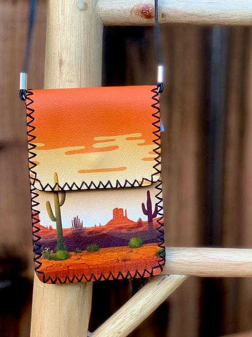 Desert Cactus Crossbody Bag