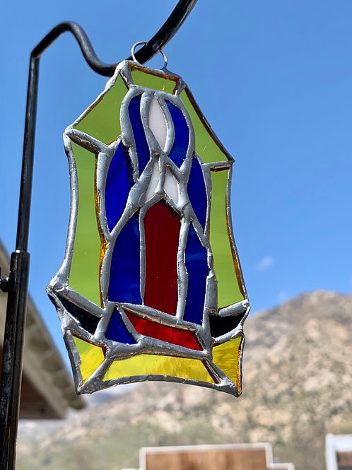 Lady Guadalupe Stained Glass