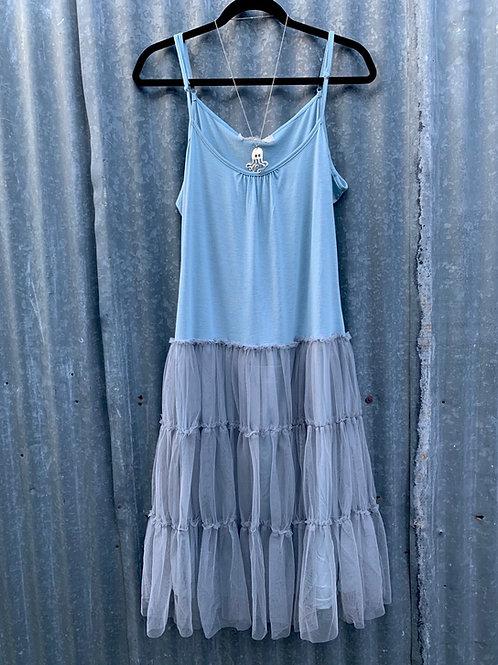 Ballerina Dress with adjustable spaghetti straps