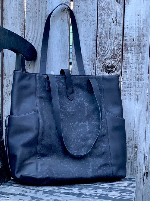 Black Oversized Bucket Bag