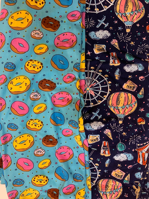 Donut Leggings / Fair Leggings