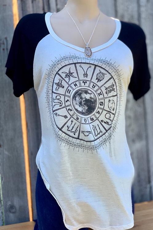 Astrology Raglan Short Sleeved Jersey