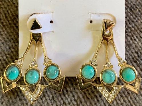 Stone & Crystal Earrings