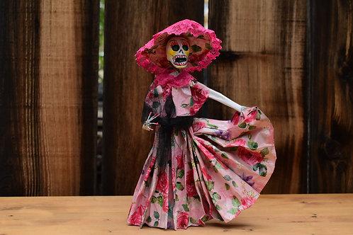 Paper Catrina Doll