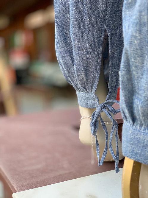 Cotton gathered Pants
