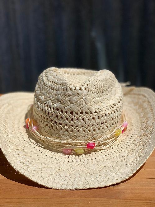Palm Leaf Cowboy Hat (no shipping)