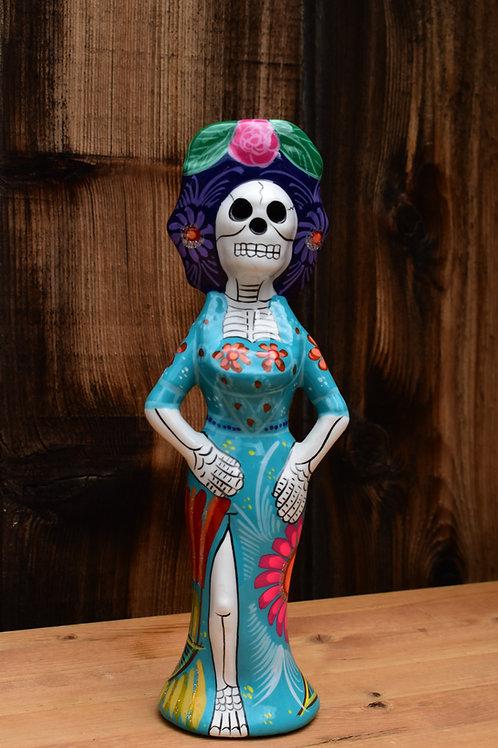 Ceramic Catrina Doll