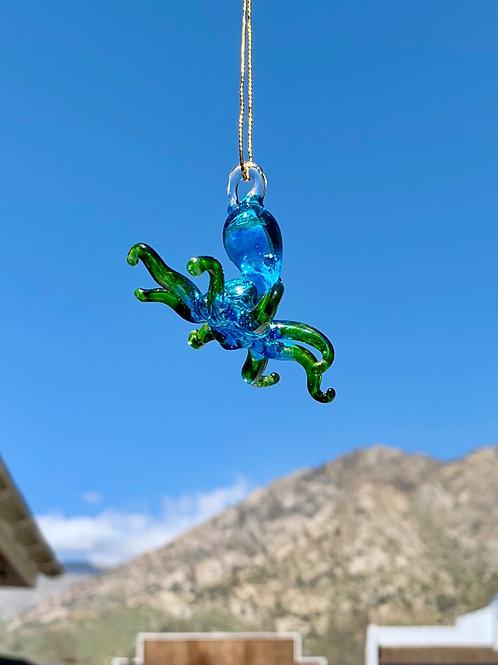 Blown Glass Octopus