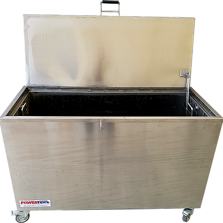 Hot Tank Rental for Self Cleaning