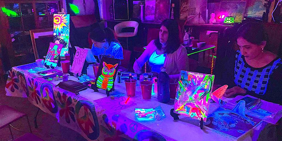 Glow Paint & Dance! - Family Night