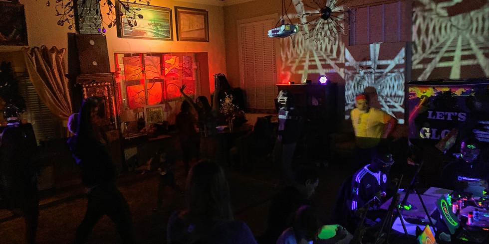 Glow Paint & Dance! - GLOW FRIDAY!