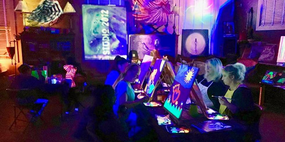 Halloween Glow Paint Event! - Fri Night