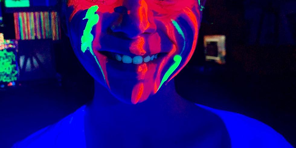 Glow Paint & Dance! - GLOW FRIDAY! (1)