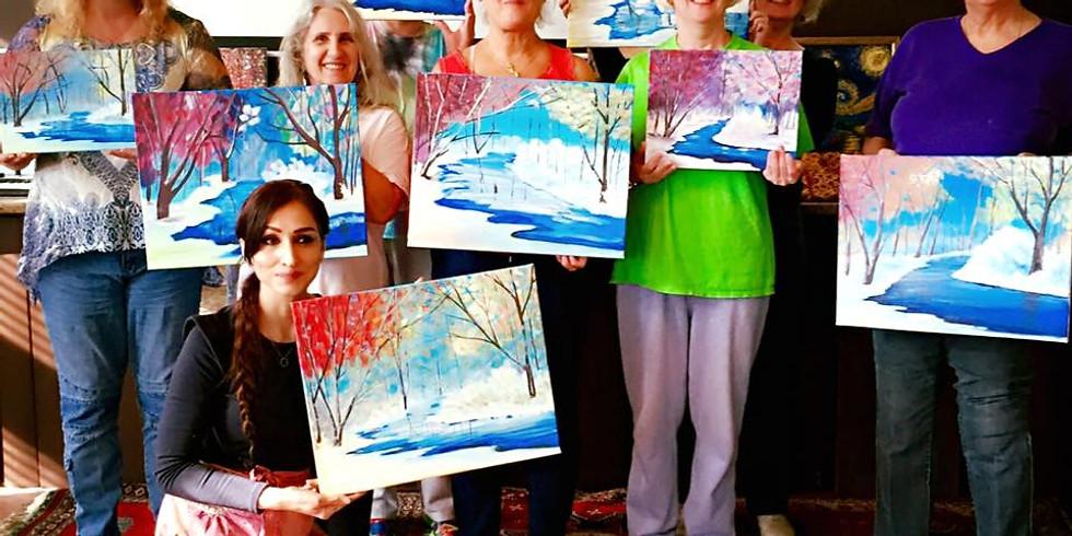 Adult Painting Studio Class