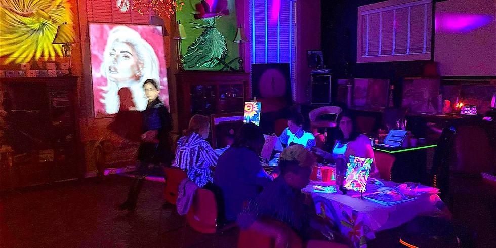 Glow Paint & Dance! - Fri Night