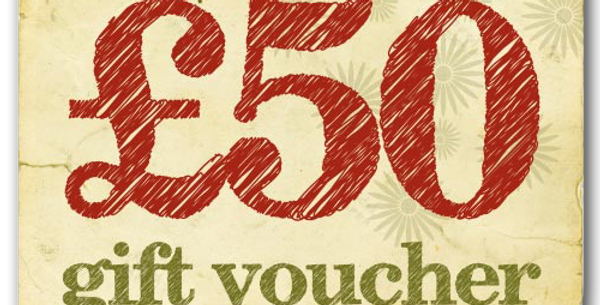 £50 experience voucher