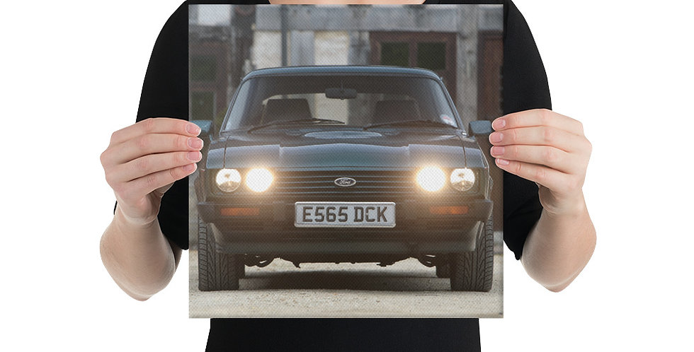 Ford Capri Canvas Print 2