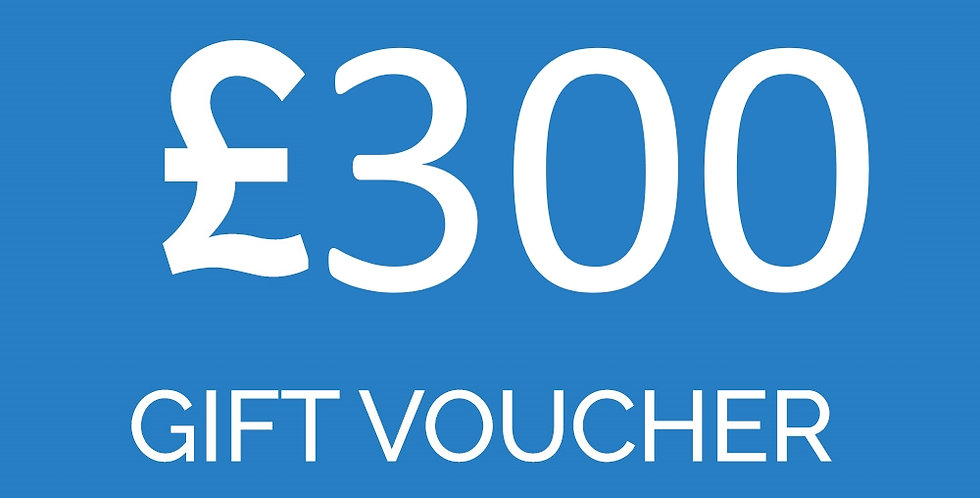 £300 experience voucher