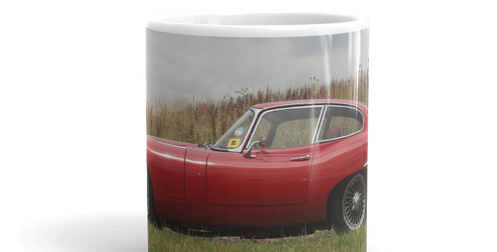 Jaguar E Type Mug