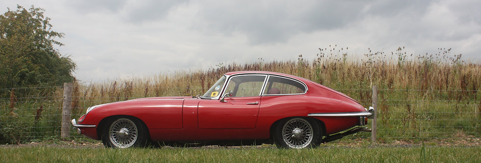 Jaguar E Type - Weekend hire