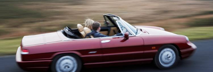 Alfa Romeo Spider - Weekend Hire