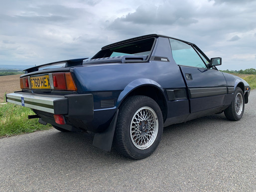 Fiat X1/9: First Drive of Our New Addition