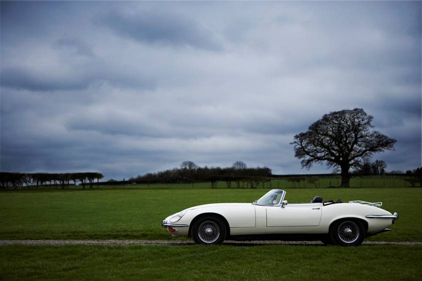 Jaguar E Type Series 3 convertible
