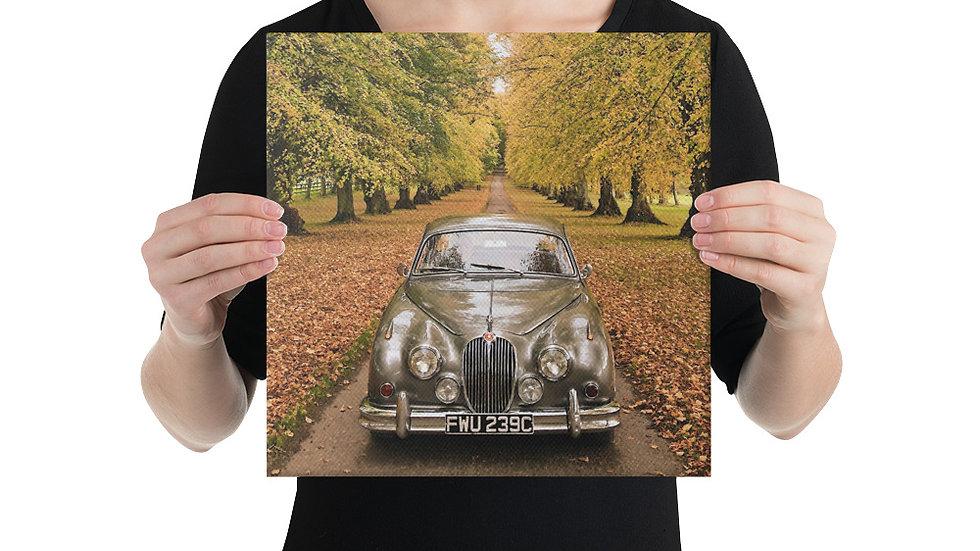 Jaguar Mk2 Canvas Print 3