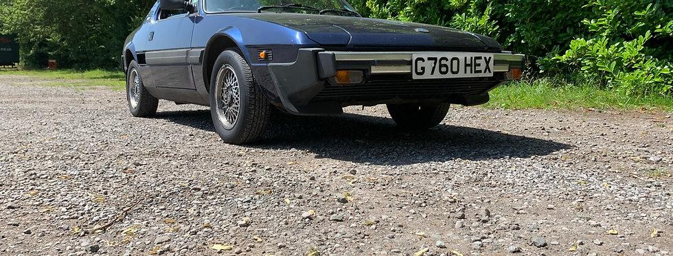 Fiat X1/9 - 72 hr Weekend