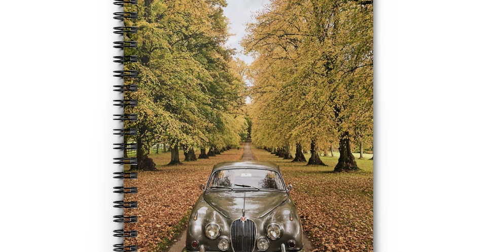 Jaguar Mk2 Spiral Notebook